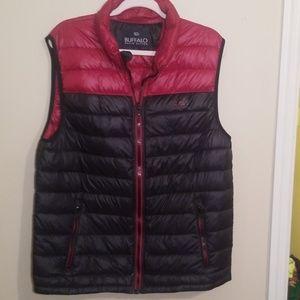 BUFFALO David Bitton Puff Vest Size XL